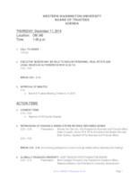 WWU Board of Trustees Packet: 2014-12-11