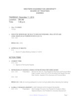 WWU Board of Trustees Packet: 2014-12-11