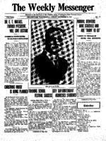 Weekly Messenger - 1922 December 8
