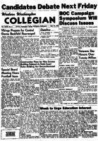 Western Washington Collegian - 1955 November 10