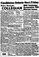 Western Washington Collegian - 1955 November 10