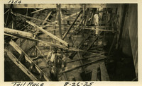 Lower Baker River dam construction 1925-08-26 Tail Race