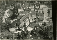 Aerial view of Mt. Baker Lodge