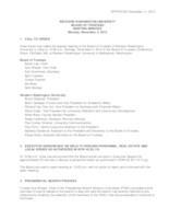 WWU Board of Trustees Meeting Records 2015 November