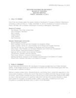WWU Board of Trustees Minutes: 2014-12-12