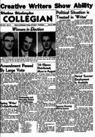 Western Washington Collegian - 1954 June 4