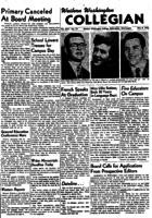 Western Washington Collegian - 1953 May 8