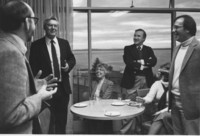 1973 Richard Thompson, Pete Elich, Mrs. Frances Adams, George Cvetovich and Ron Kleinkecht
