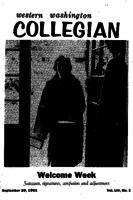 Western Washington Collegian - 1961 September 29