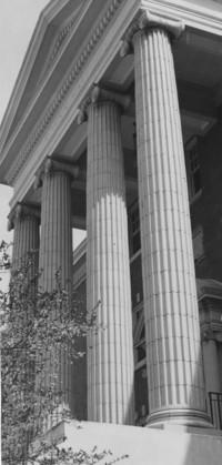 1955 Edens Hall: Columns
