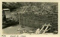 Lower Baker River dam construction 1924-09-02  Diversion dam