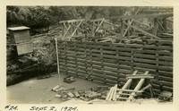 Lower Baker River dam construction 1924-09-02  Diversion dam