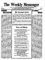 Weekly Messenger - 1919 December 5