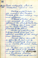 AS Board Minutes - 1925 April