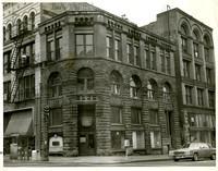 """Chuckanut Sandstone directly across from Bill Spiedel's beginning of underground Seattle."""