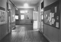 1971 Old Main: Interior Hallway
