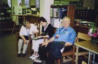 2007 Reunion--Beret (Funkhouser) Harmon, Ruth (Rairdon) Vaughn and Donald Rairdon in Special Collections