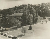 1938 Library: South Side Exterior