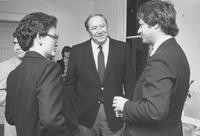 1983 G. Robert Ross at Reception in Canada House