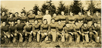 Fairhaven High School football team posing on field