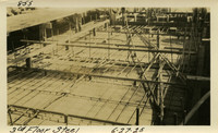 Lower Baker River dam construction 1925-06-27 3rd Floor Steel