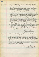AS Board Minutes - 1923 August