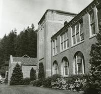 1960 Campus School Building North End Front Facade