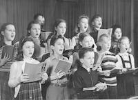 1943 Choir Time
