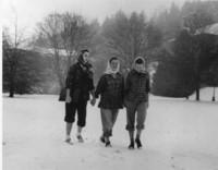 1944 Barbara Welsh, Sara Rankin, and Lee Thompson