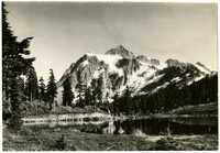 Mount Shuksan with Picture Lake