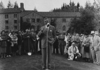 1958 Haggard Hall Groundbreaking