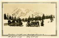 Fordson Freight and Passenger Service to Mt. Baker Lodge