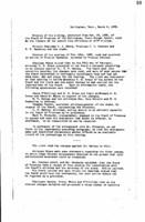 WWU Board minutes 1909 March