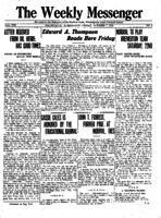 Weekly Messenger - 1921 October 7