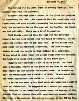 AS Board Minutes 1945-11