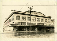 Exterior of commercial Waples Building in Lynden, WA