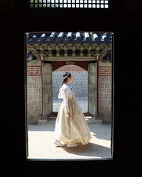 Princess for the Day at Gyeongbukgung Palace