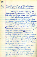 AS Board Minutes - 1925 February