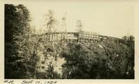 Lower Baker River dam construction 1924-09-10 Cement mining activity