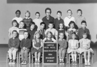 1964 Kindergarten Class with Synva Nicol