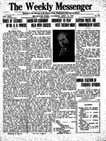 Weekly Messenger - 1919 April 19