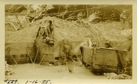 Lower Baker River dam construction 1925-01-16