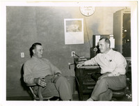 Stanley Tarrant and unidentified man