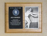 Hall of Fame Plaque: Jack Nighbert, Baseball (Outfielder), Class of 1979