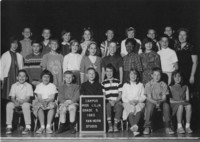 1965 Fifth Grade Class with Linnea Lilja