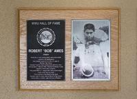 Hall of Fame Plaque: Bob Ames, Football (Center), Class of 2005