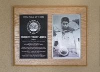 Hall of Fame Plaque: Bob Ames, Football (Center), Class of 2005