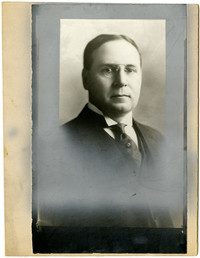 Studio portrait of Jos G. Snydaker