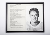 Football Photograph: Peter Labarge, Punter and Placekicker, Soccer, honors and records, 1988/1991