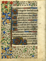 French Book of Hours circa 1450 [item ALG2]